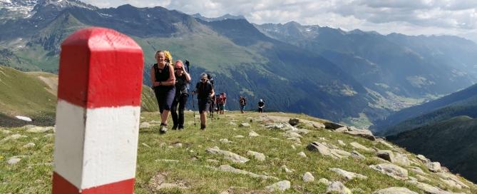 Gruppendynamik am Berg